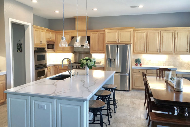 KH Custom Home Kitchen Remodel