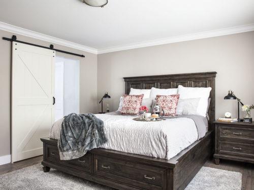KH Customs – Old Farm Road Master Bedroom Remodel