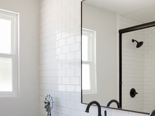 KH Customs – Old Farm Road Bathroom Detail