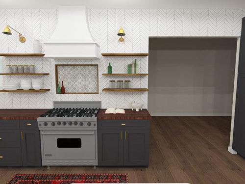 KH Customs – Kitchen Render