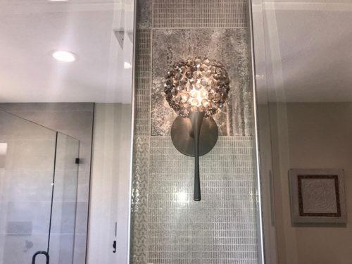 KH Customs – Sleek Grey Master Bathroom